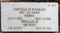 Phyllis Deanne <I>Hedrick</I> Dahlen