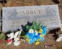"""Marguerite Melvina Agnes """"Marny"""" <I>Mohr</I> Abbey"""