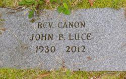 Rev John Burroughs Luce