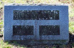 Grace M <I>Craven</I> Rossmeisl