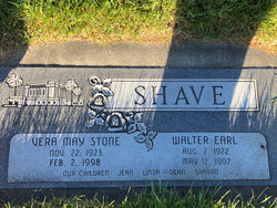 Walter Earl Shave