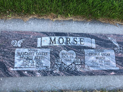 Margaret Lavern O <I>Holmes</I> Morse