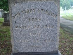 Ann <I>Tibby</I> Stinson