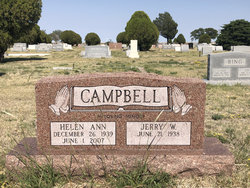 Helen Ann <I>Thompson</I> Campbell