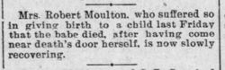 Infant Girl Moulton