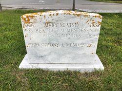 Beatrice M <I>Vise</I> Mendes