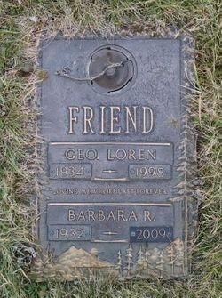 Barbara Ruth <I>Knoch</I> Friend
