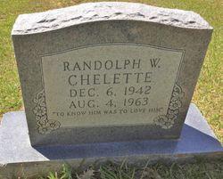 Randolph William Chelette