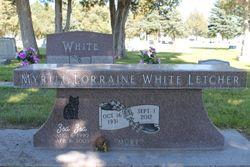 "Myrtle ""Murt"" <I>White</I> Letcher"