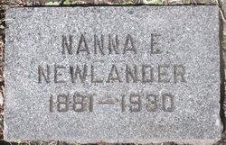 Nanna E. Newlander