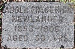 Adolf Frederick Newlander