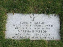 Louis M Patton