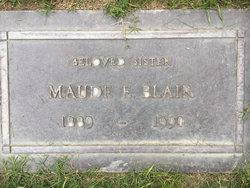 Maude Elizabeth <I>Grant</I> Blair