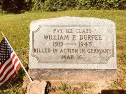 PFC William P Durfee