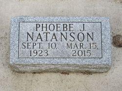 Phoebe Jane <I>Freelin</I> Natanson