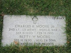 Charles K Moore, Jr