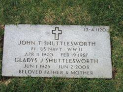 John T Shuttlesworth