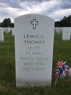 Lewis G Thomas