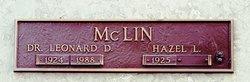 Hazel L. <I>Goodlett</I> McLin