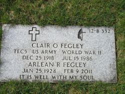 Clair O Fegley