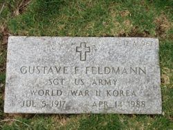 Gustave F Feldmann