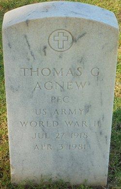 Thomas G Agnew