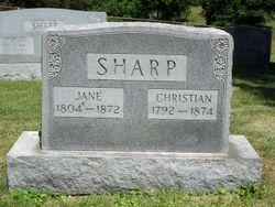 "Cynthia Jane ""Polly"" <I>Owens</I> Sharp"