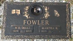 """W. D. """"Bill"""" Fowler"""