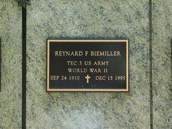Reynard F Biemiller