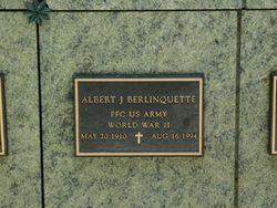 Albert J Berlinquette
