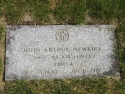 SSGT John Arthur Newkirk