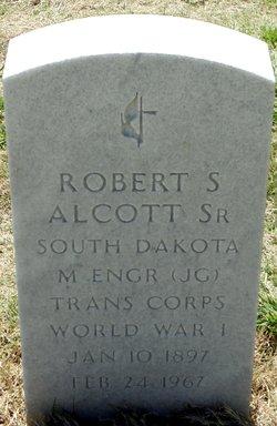 Robert S Alcott, Sr