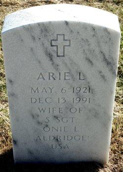 Arie L Aldridge