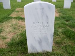 Joan D Gannon