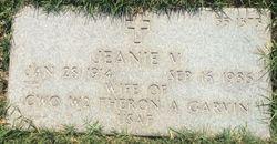 Jeanie <I>Visconti</I> Garvin