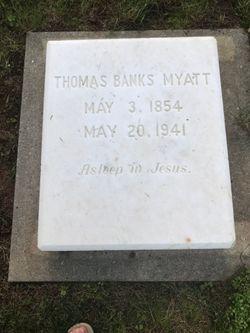 Thomas Banks Myatt