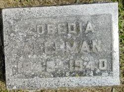 Zobediah <I>Gambee</I> Alleman