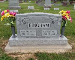 Miriam Ruth <I>Held</I> Bingham