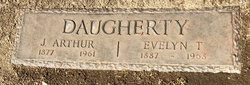 Evelyn Tyree <I>Cohenour</I> Daugherty