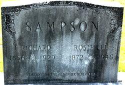 Rosie Lee <I>Mathis</I> Sampson
