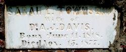 Sarah L <I>Townsend</I> Davis