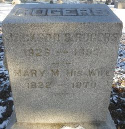 Jackson Seaborn Rogers 1826 1897 Find A Grave Memorial