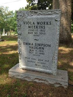 Viola Fern <I>Works</I> Meekins