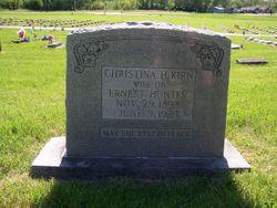 Christina Helen <I>Kirn</I> Hunter