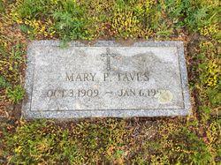 Mary P <I>Patrick</I> Taves