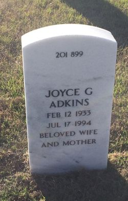 Joyce Gay Adkins