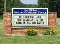 King William Wesleyan Methodist Church Cemetery
