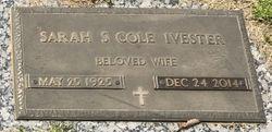 Sarah S. <I>Cole</I> Ivester