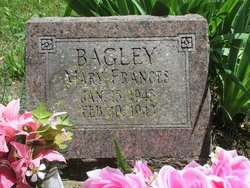 Mary Frances Bagley