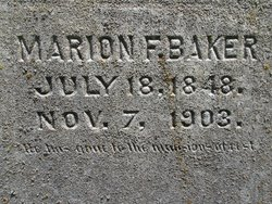 Francis Marion Baker
